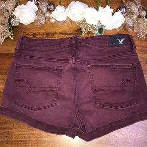 🍇 🦅 American Eagle Stretchy High Rise Shorts